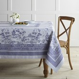 Blue Willow Jacquard Tablecloth
