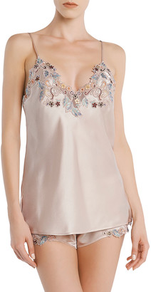 La Perla Maison Camisole with Floral Embroidery