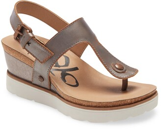 OTBT Boathouse Wedge Sandal