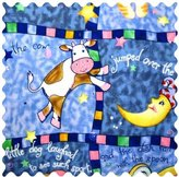 Camilla And Marc SheetWorld Hey Diddle Patch Fabric - By The Yard - 101.6 cm (44 inches)