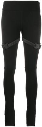 Alyx Buckle Detail Asymmetric Cuff Leggings