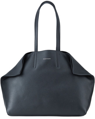 Alexander McQueen Butterfly Large Leather Tote Bag
