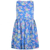 Ralph Lauren Ralph LaurenGirls Blue Floral Print Dress