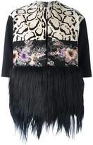Antonio Marras fur hem jacket