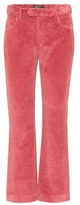 Isabel Marant Reo cropped corduroy trousers