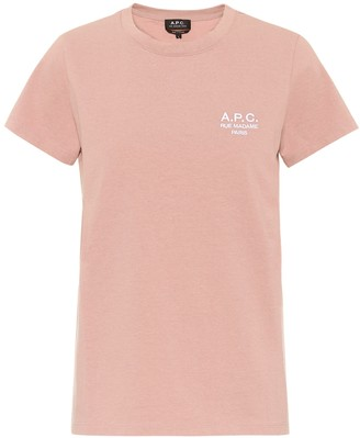 A.P.C. Logo cotton T-shirt