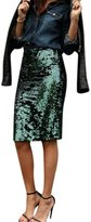 TONSEE Women Fashion Sexy Sequined Skirt (XL)
