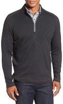 Robert Graham Men's 'Elia' Regular Fit Quarter Zip Pullover