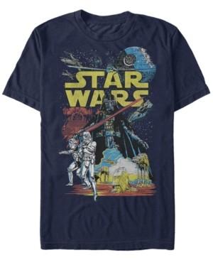 Star Wars Men's Classic Darth Vader Supreme Short Sleeve T-Shirt