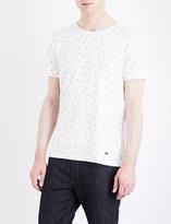 HUGO BOSS Hand-print cotton-jersey T-shirt