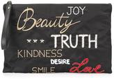 RED Valentino embroidered clutch