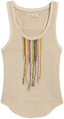 Free People Great Expectations Crochet Tank