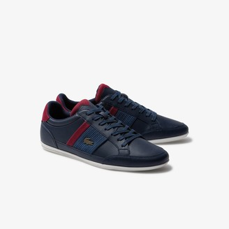 Lacoste Men's Chaymon Leather and Synthetic Sneakers