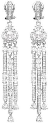 Judith Ripka Sterling Chandelier Earrings