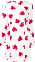 Moschino Pre Owned 2000's heart printed mini dress