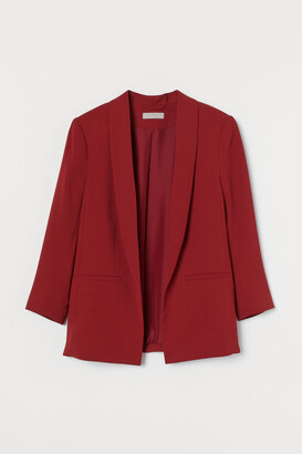 H&M Straight-cut Jacket - Red