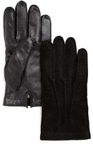 The Men's Store at Bloomingdale's Peccary Tech Gloves