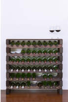 6 Layers of 9 Bottles Wine Rack Finish: Top Shelf Stained