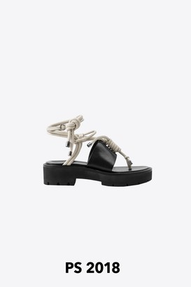 3.1 Phillip Lim Strappy Lugsole Sandal