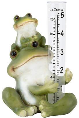 La Crosse Technology La Crosse 704-4114 Polyresin Frog Rain Gauge