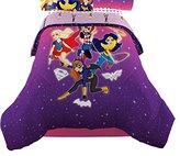 Warner Bros. DC Super Hero Girls Cosmic Girl Twin/Full Comforter