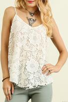 Umgee USA Crochet Knit Top