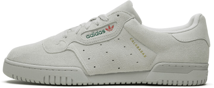 Adidas Yeezy Powerphase 'Quiet Grey Suede' Shoes - Size 4