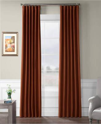 "Bellino Exclusive Fabrics Furnishings Blackout Curtain 108"" x 50"" Curtain Panel"