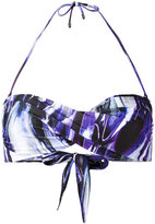Mona - twisted bandeau bikini top - women - Polyester/Spandex/Elastane - S