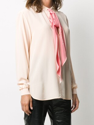 Givenchy Pussy-Bow Blouse