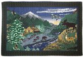 Park B. Smith Bear Lodge Tapestry 4-pc. Placemat Set