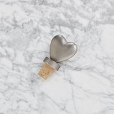 Crate & Barrel Heart Bottle Stopper