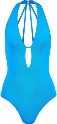 Jets Jetset Plunge Cutout Swimsuit