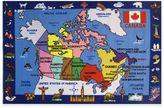 Fun Rugs Fun Time Map of Canada Area Rug