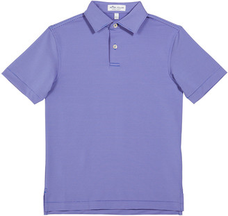 Peter Millar Boy's Jubilee Stripe Performance Polo Shirt, Size XXS-XL