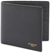 Givenchy Men's Calfskin Leather Bifold Wallet - Black