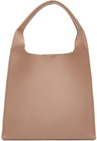 Maison Margiela Pink Leather Shopper Tote