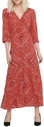 Only Mette 3/4 Midi Calf Dress