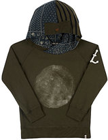 Scotch Shrunk MOON-PRINT COTTON HOODIE