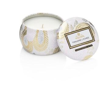 Voluspa Mini Decorative Tin Candle - Panjore Lychee