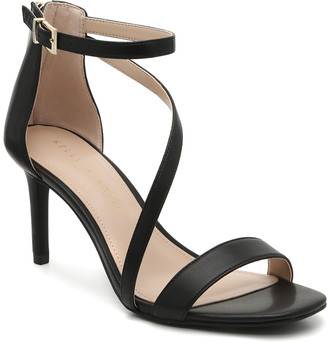 Kelly & Katie Women's Liana Sandals Black Size 5 Faux Leather From Sole Society