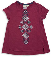 Roxy Girls 7-16 Geometric Hi-Lo Tee