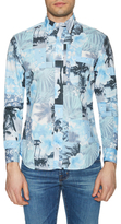 Gitman Brothers Collage Sportshirt