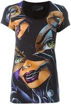 Philipp Plein Catwoman print T-shirt