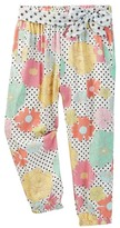 Andy & Evan Floral Printed Pant (Toddler & Little Girls)