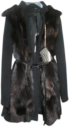 Liu Jo Liu.jo Black Fox Coat for Women