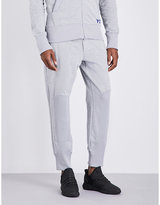 Y3 Cotton-jersey Jogging Bottoms