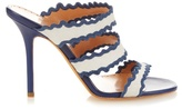 Alexa Wagner Thumbellina suede straps sandals