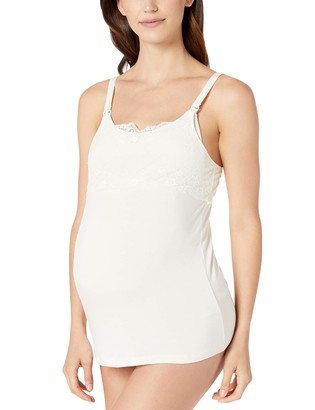 Rosie Pope Women's Maternity Pip N Vine Nursing Camisole with Lace