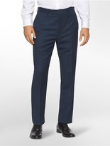 Calvin Klein Body Slim Fit Navy Suit Pants